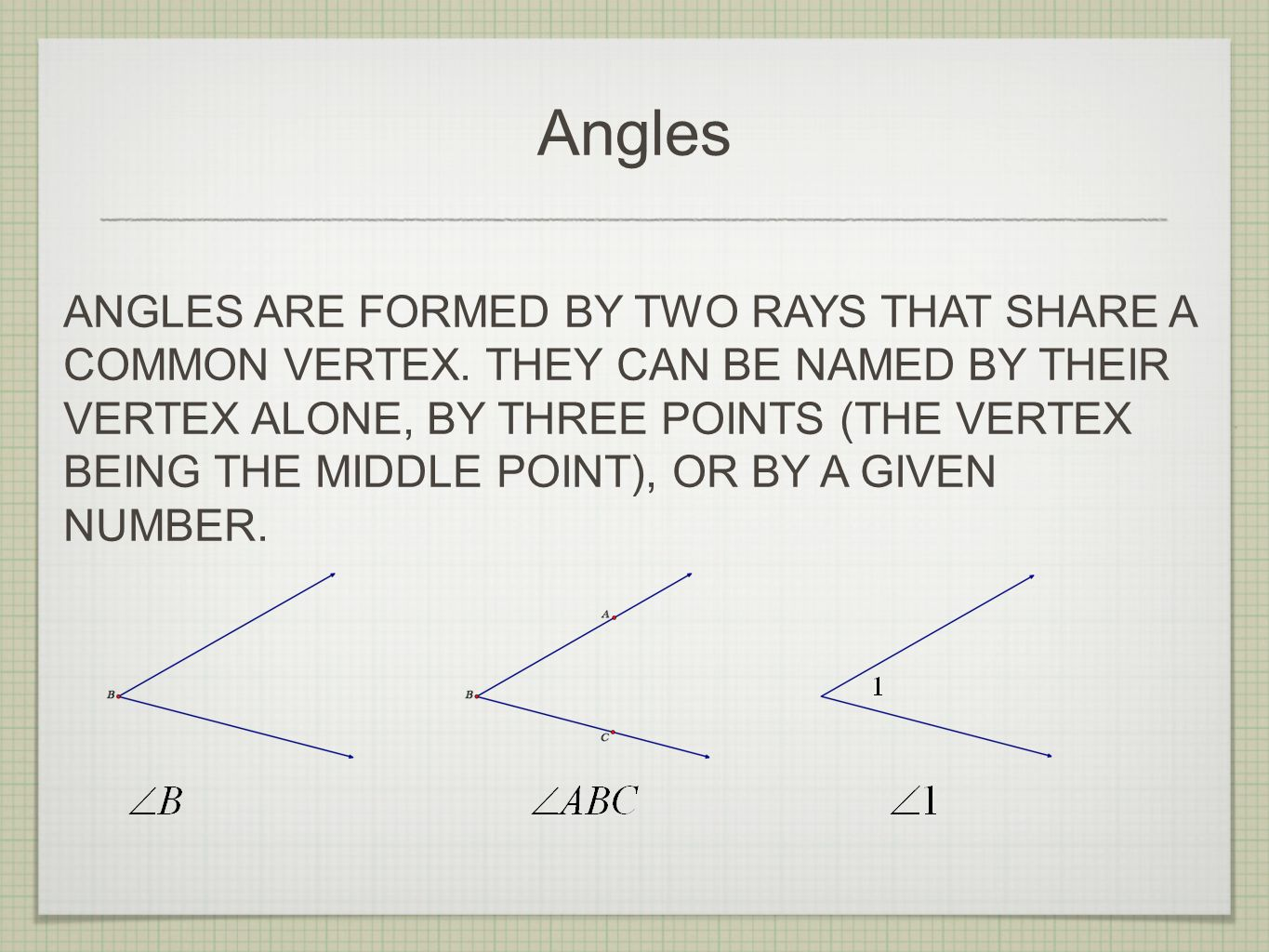Proving the Vertical Angles Theorem (5.5.1) May 11th, ppt download