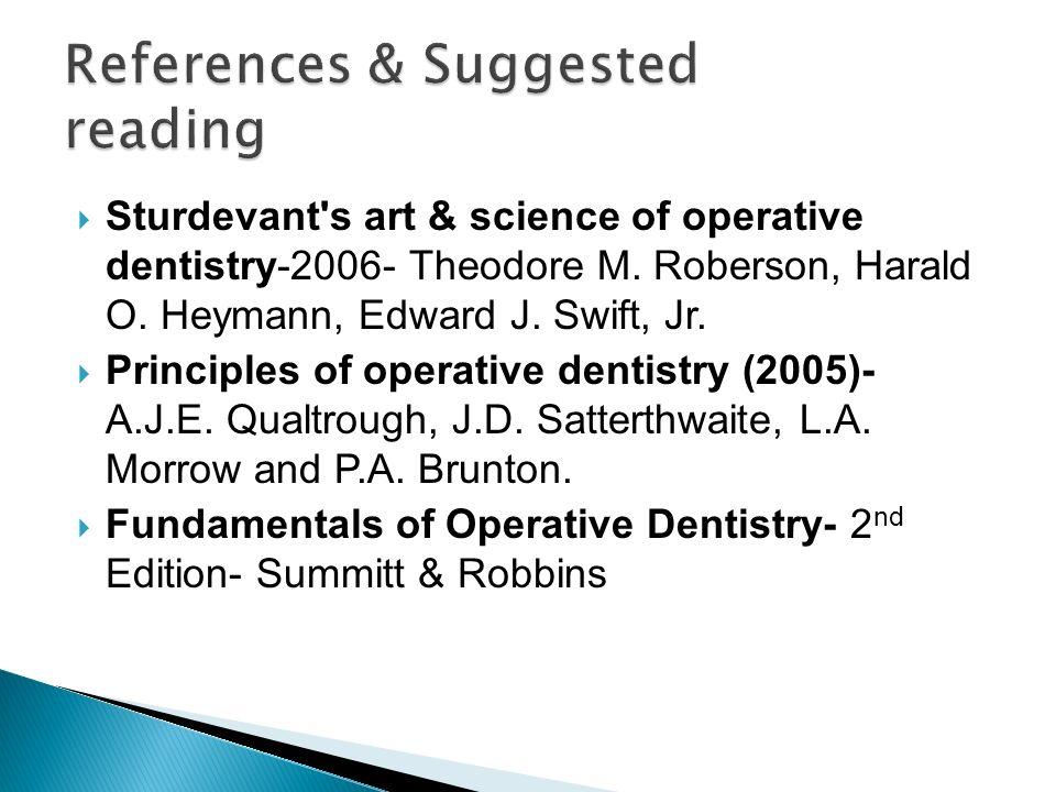 Sturdevant s art & science of operative dentistry-2006- Theodore M.