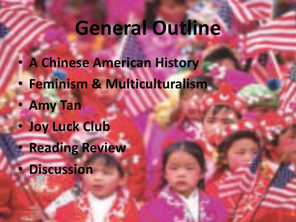 understanding the definition of a chinese american through the joy luck club by amy tan