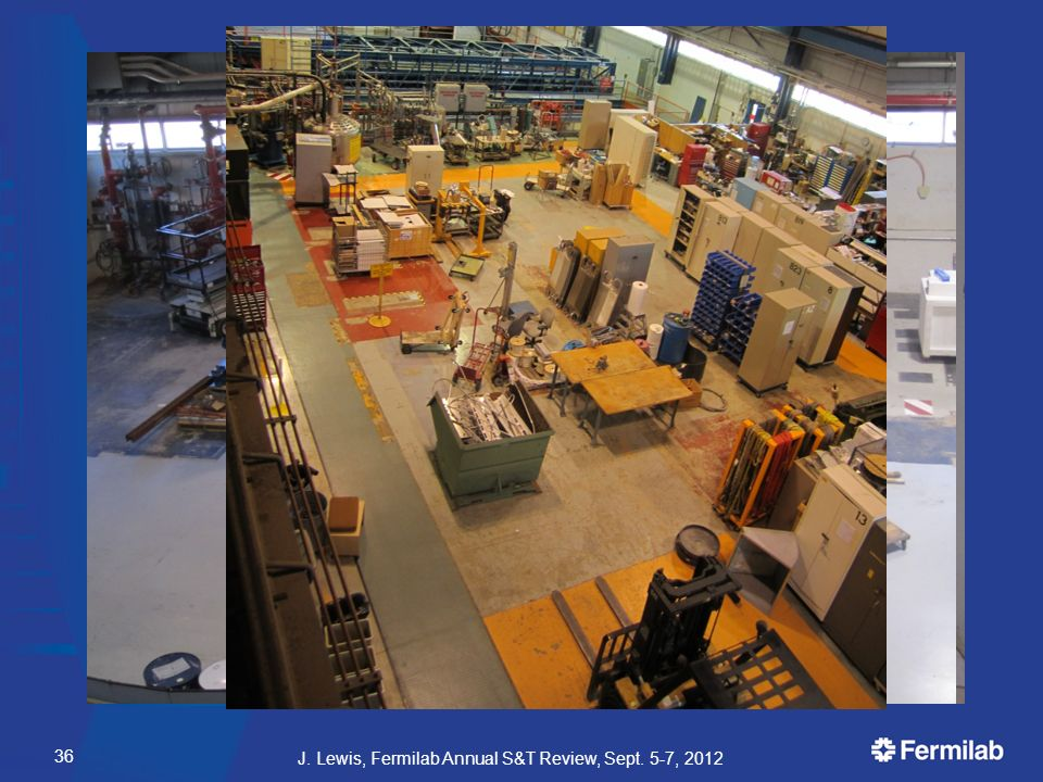 Decommissioning and Beyond All hazards secured  HV, cryogens, flammable gas all gone by November Recovered equipment for other experiments  Electronics, computers, phototubes  Contributing to 15 different efforts First floor counting room clear Second floor counting room set up as display West high-bay clear and ready for IARC  Preliminary building integration work completed East high-bay cleaned up Decommissioning goals for FY12 complete  14k hours.