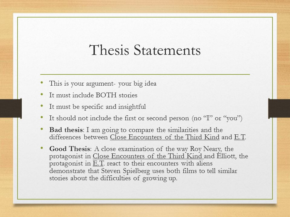 compare and contrast essay for compare and contrast essay ppt  11 thesis the thesis statement in the essay includes the two subjects you are comparing or contrasting and the main point you want to make about them