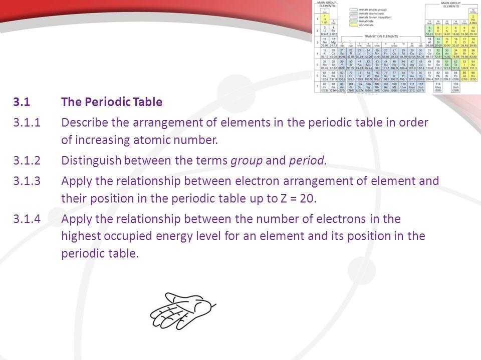 Periodicity 31the periodic table 311describe the arrangement of 31the periodic table 311describe the arrangement of elements in the periodic table in urtaz Choice Image