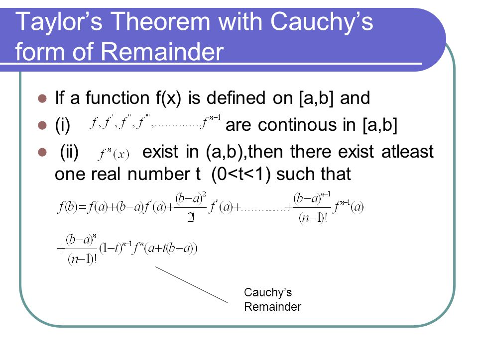 GENERAL THEOREMS,INCREASE AND DECRESE OF A FUNCTION,INEQUALITIES ...