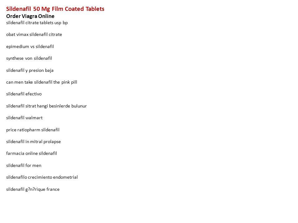 sildenafil 50 mg film coated tablets order viagra online