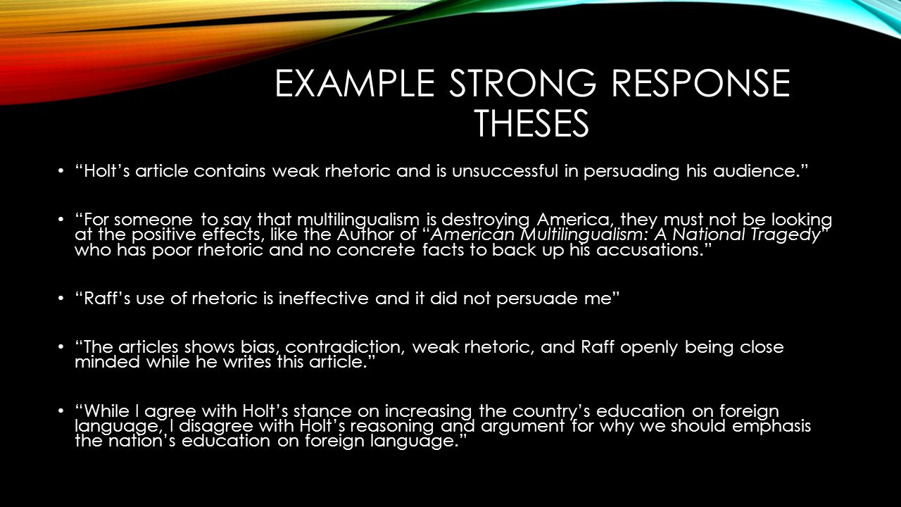 concrete response essay Concrete response essay what new questions pop up for you in response to what you have read out smart the author by asking better questions than he has raised.
