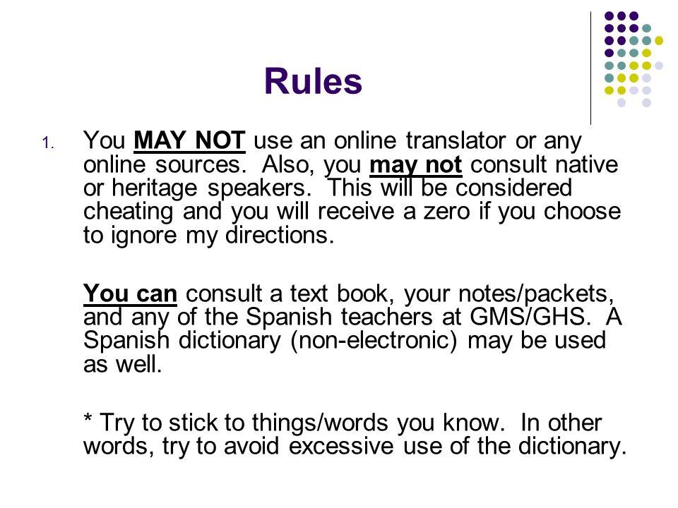word essay in spanish