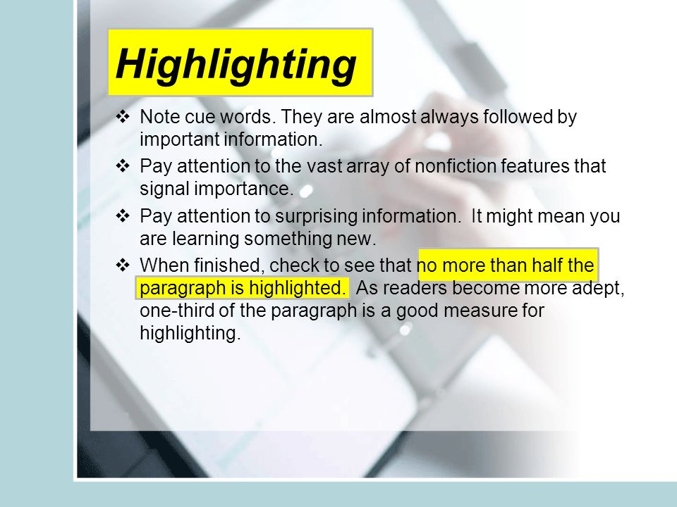 Reading highlighting annotating and responding everything you 6 ccuart Gallery