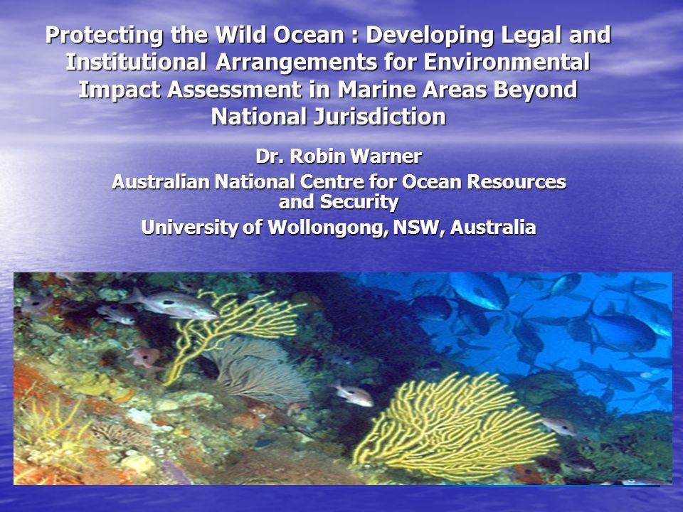anthropogenic impact on marine environment and