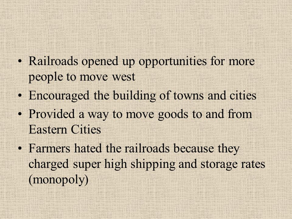 What opportunities and conflicts emerged as Americans moved westward?? Essay Help?