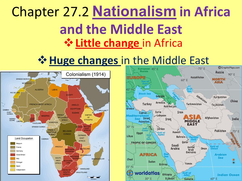 Chapter 272 Nationalism in Africa and the Middle East  Little
