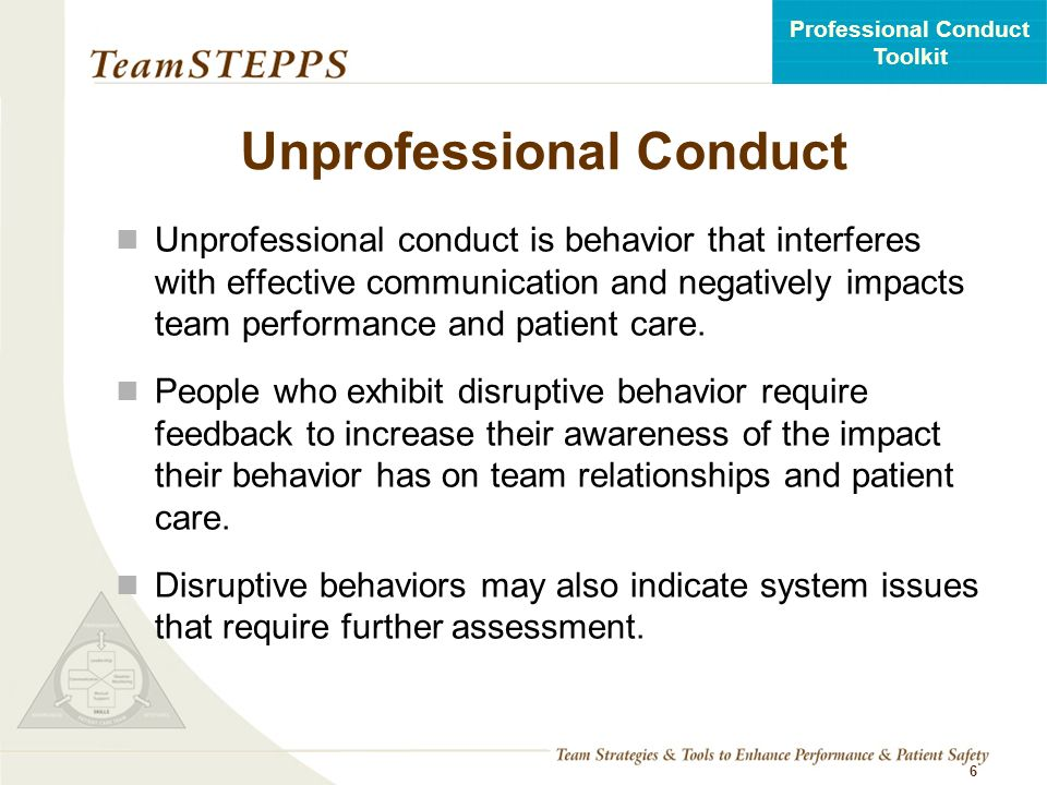 unprofessional conduct case study Each case study includes a set of questions that you should answer you can choose either case study 91: unprofessional conduct  assignment 2: workplace ethics.