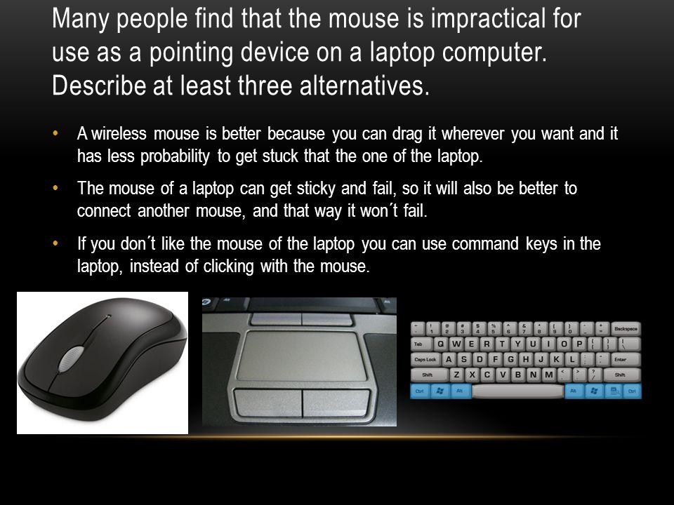 mouse got stuck
