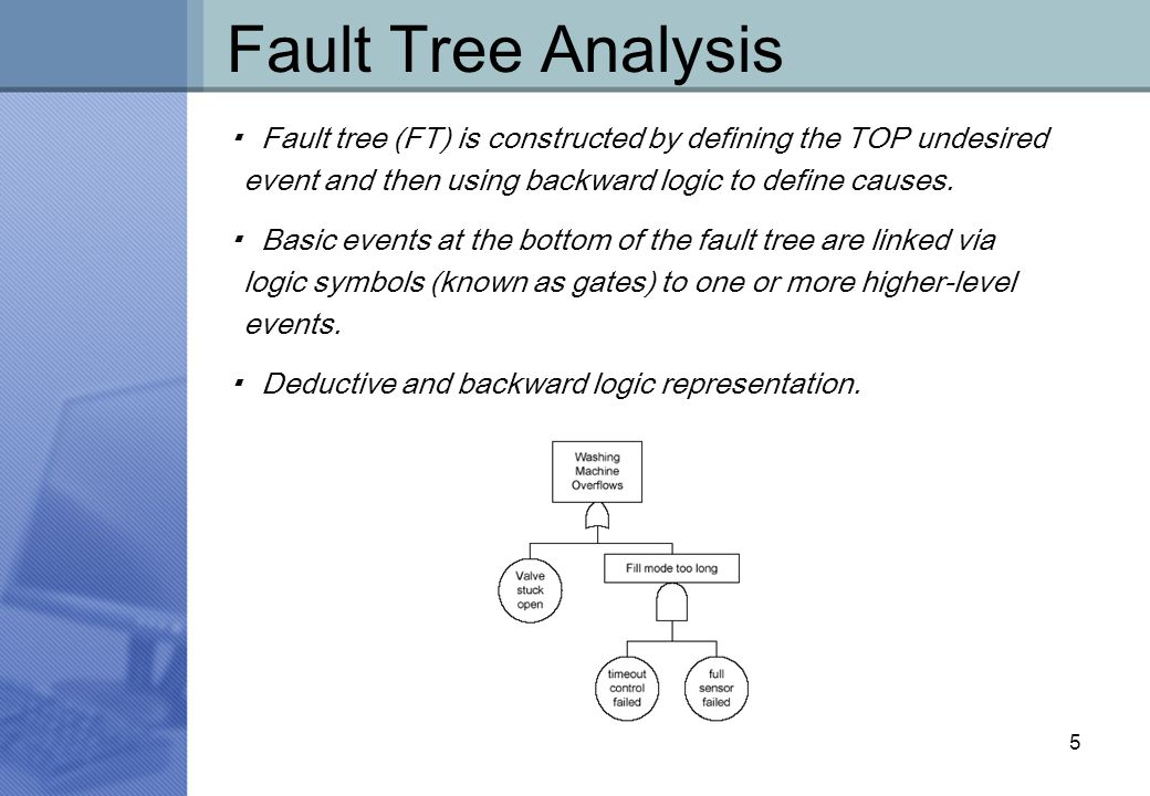 "combining task analysis and fault tree The risk assessments were carried out using fault tree analysis "" combining task analysis and fault tree analysis for accident and incident analysis."