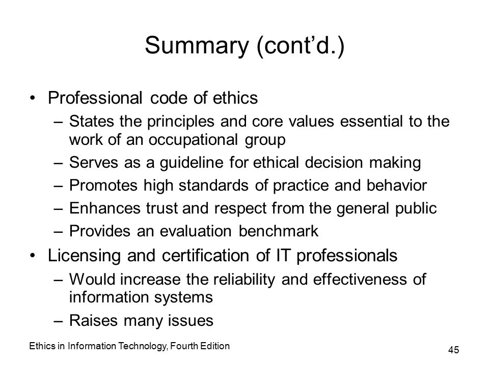 ch 1 need for ethics Ethics handbook for michigan municipalities chapter 1: the importance of ethics for a local government it need not be asked.