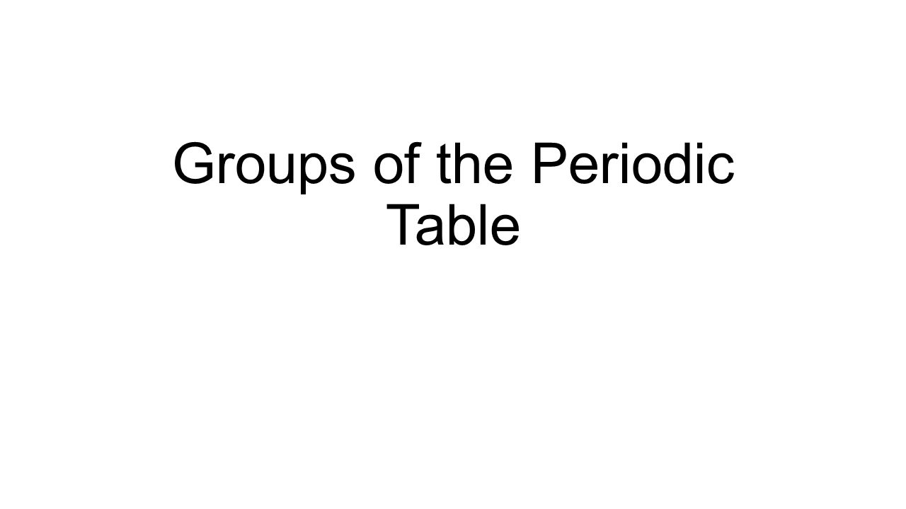 Groups of the periodic table alkali metals group 1a one 1 groups of the periodic table gamestrikefo Images