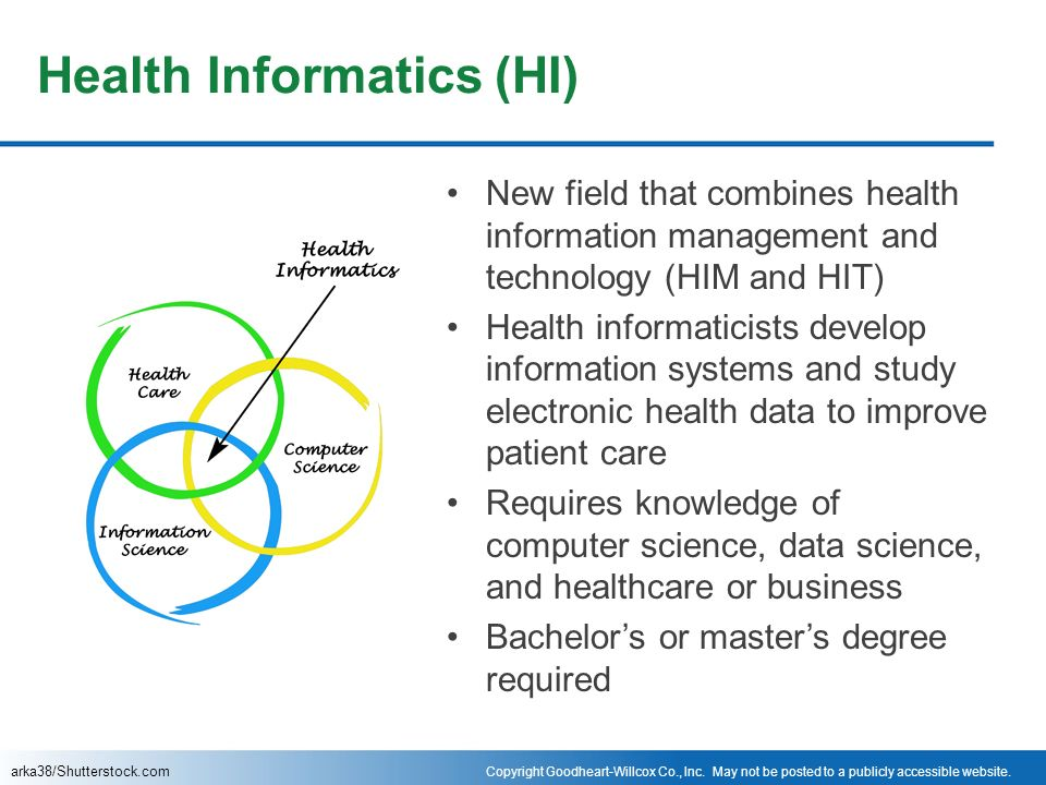 informatics health care and information