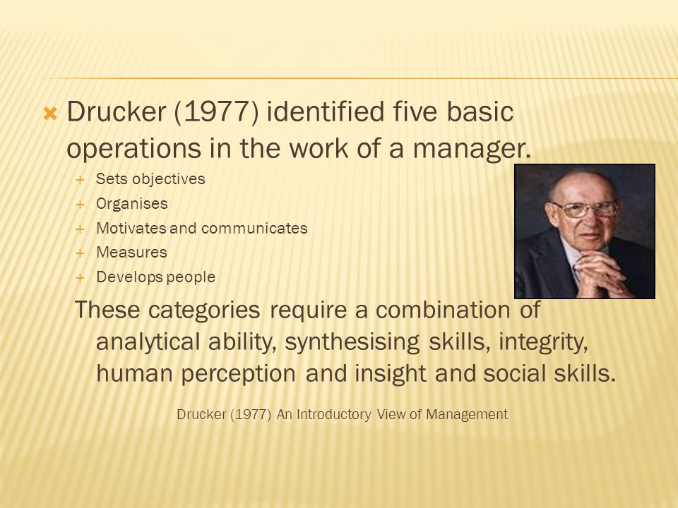 Managers as leaders management guru peter drucker once said 3 drucker sciox Choice Image