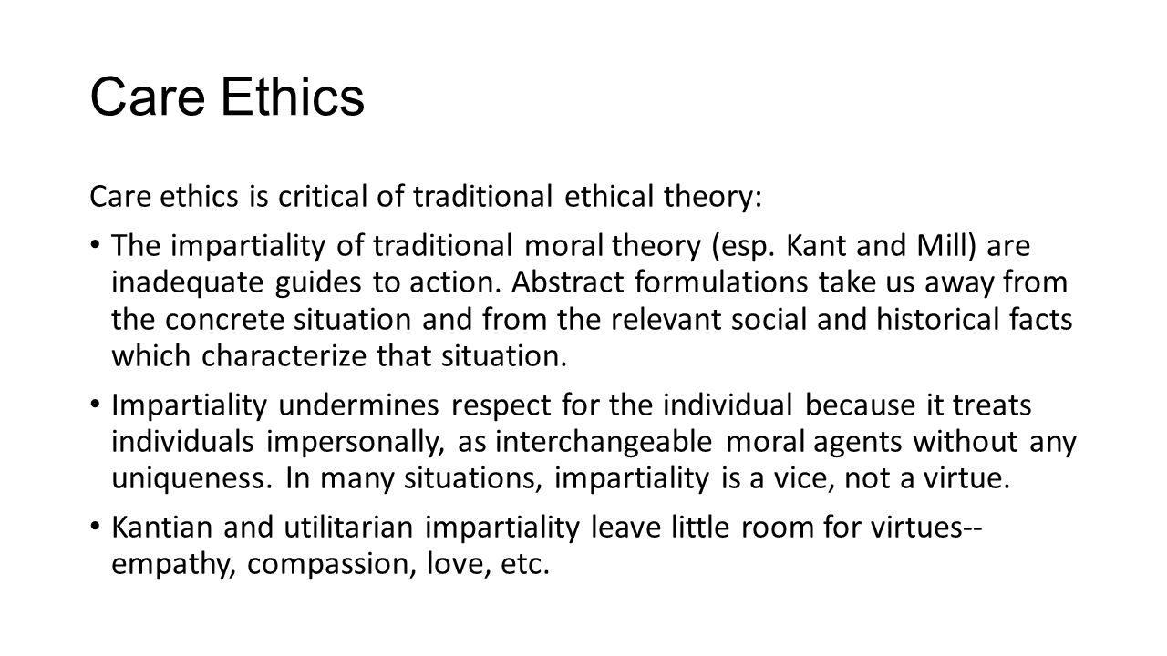 ethics kant vs mill