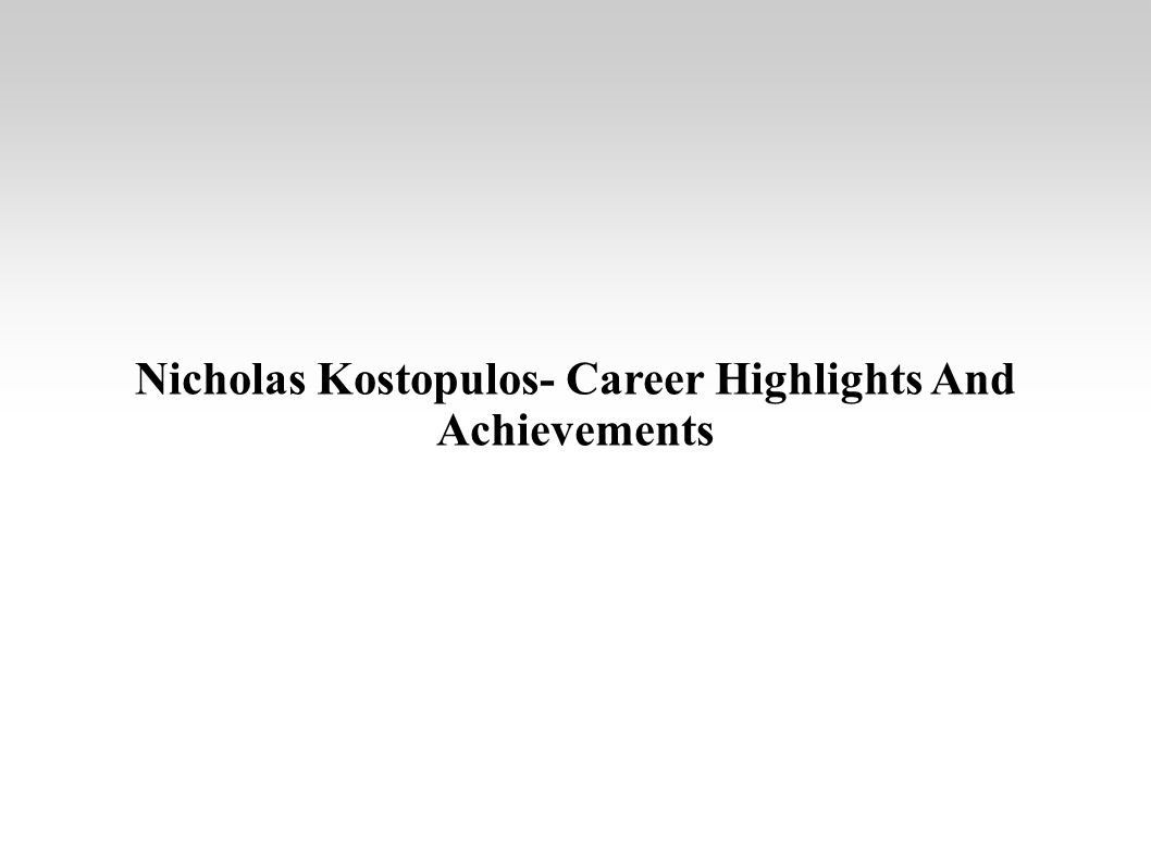 career achievements
