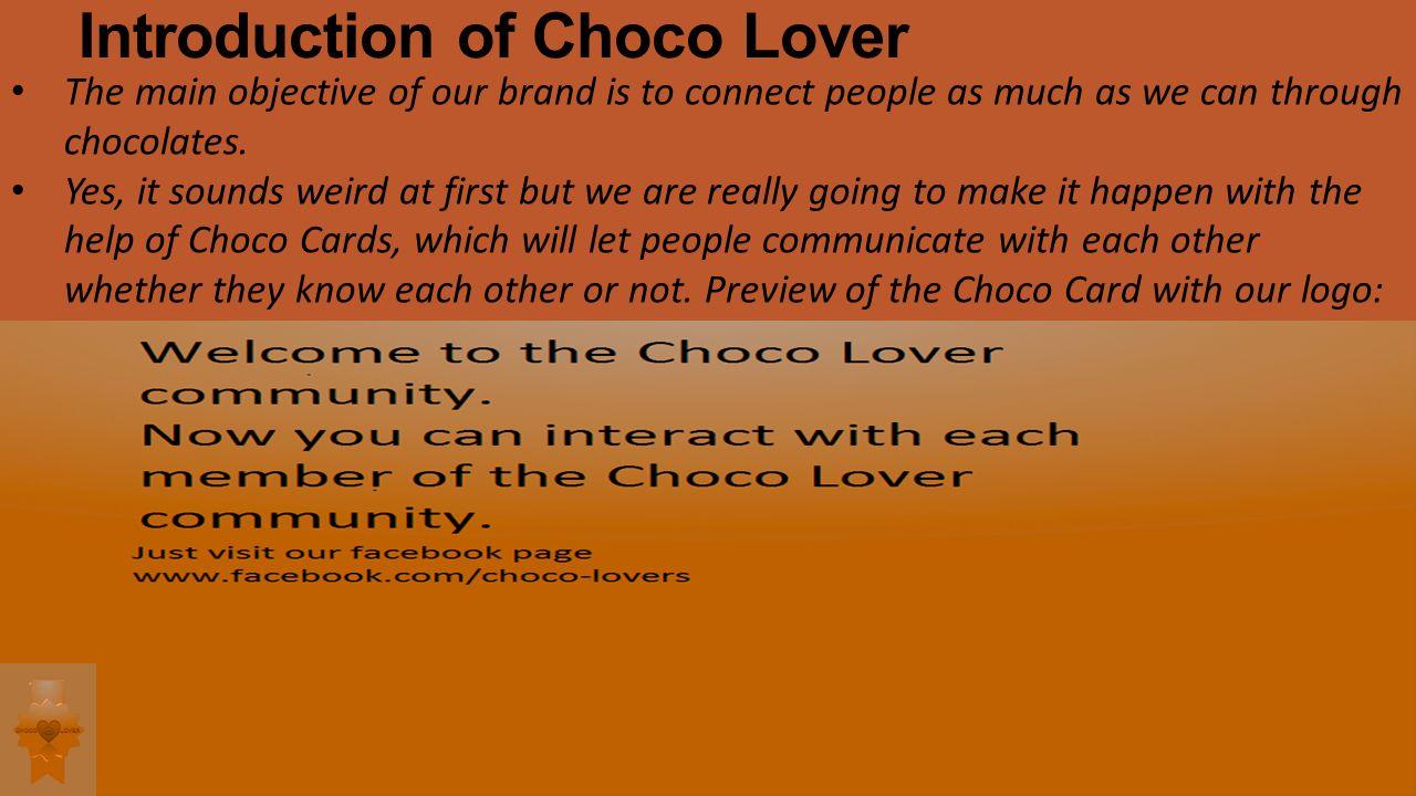 Business Idea Home Made Chocolates 2 Introduction