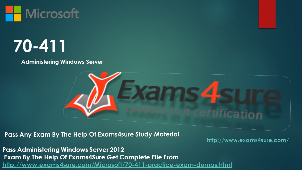 Administering windows server pass any exam by the help of 1 70 411 administering windows server pass any exam 1betcityfo Image collections
