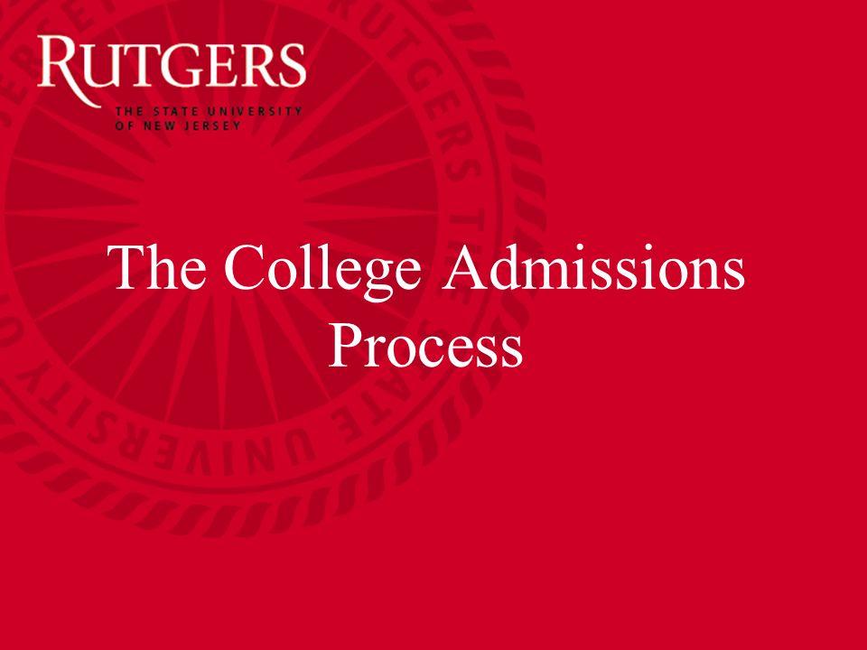 Rutgers Admission Essay