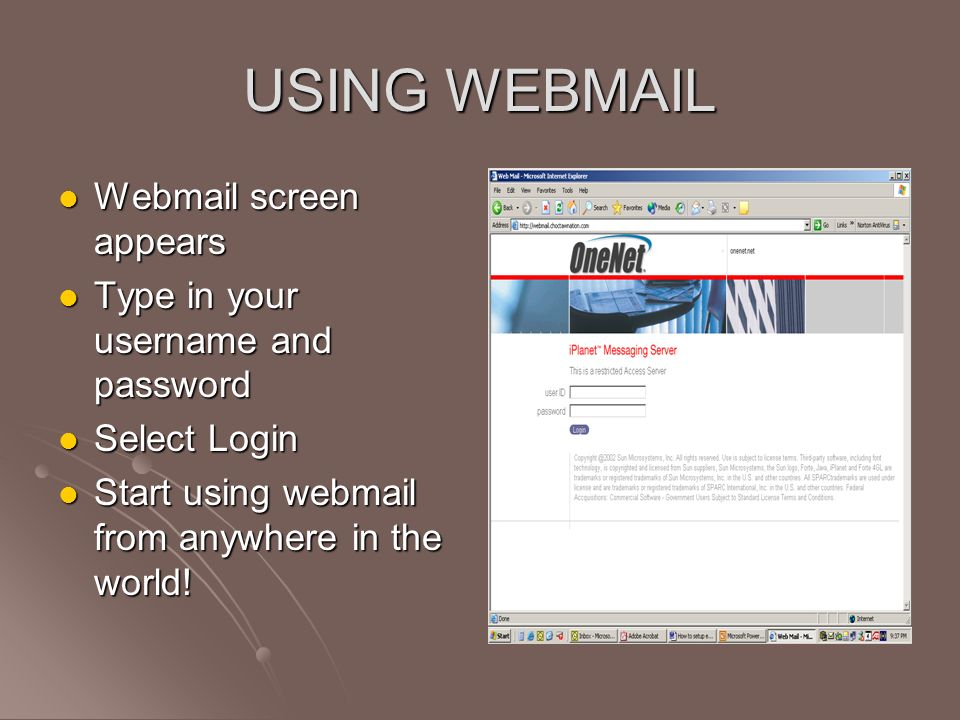 your webmail server