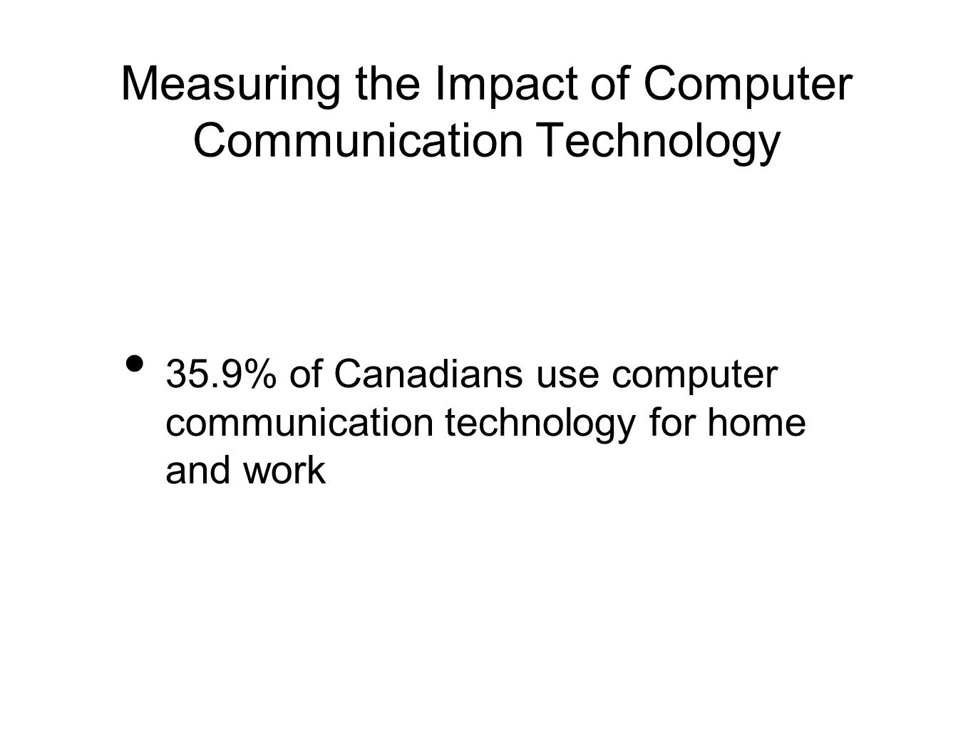 impact of technology communication Recent technological advancements have had a drastic impact on the way individuals communicate in this research, previous studies were analyzed, field observations were conducted, and an online survey was administered.