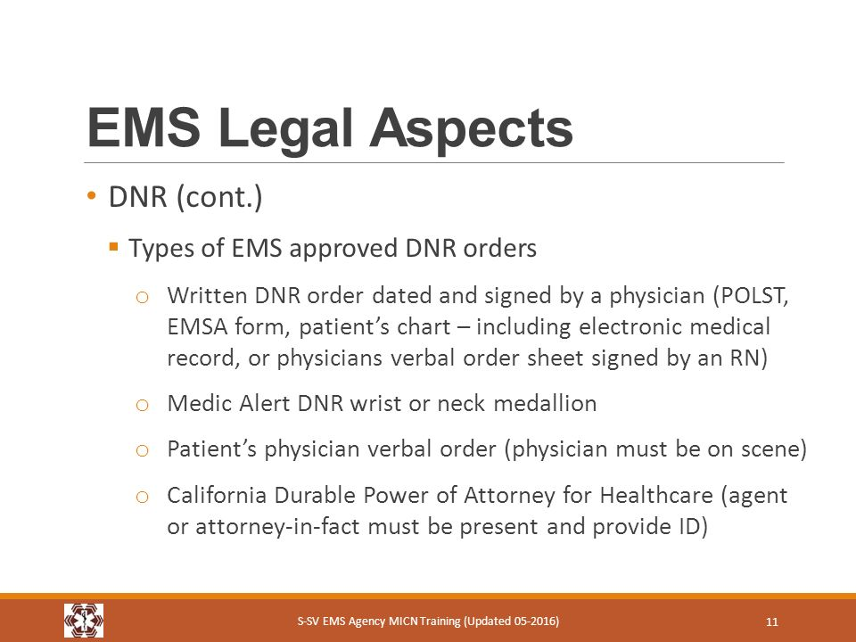 SSv Ems Micn Course Module  Ems Legal Aspects SSv Ems Agency
