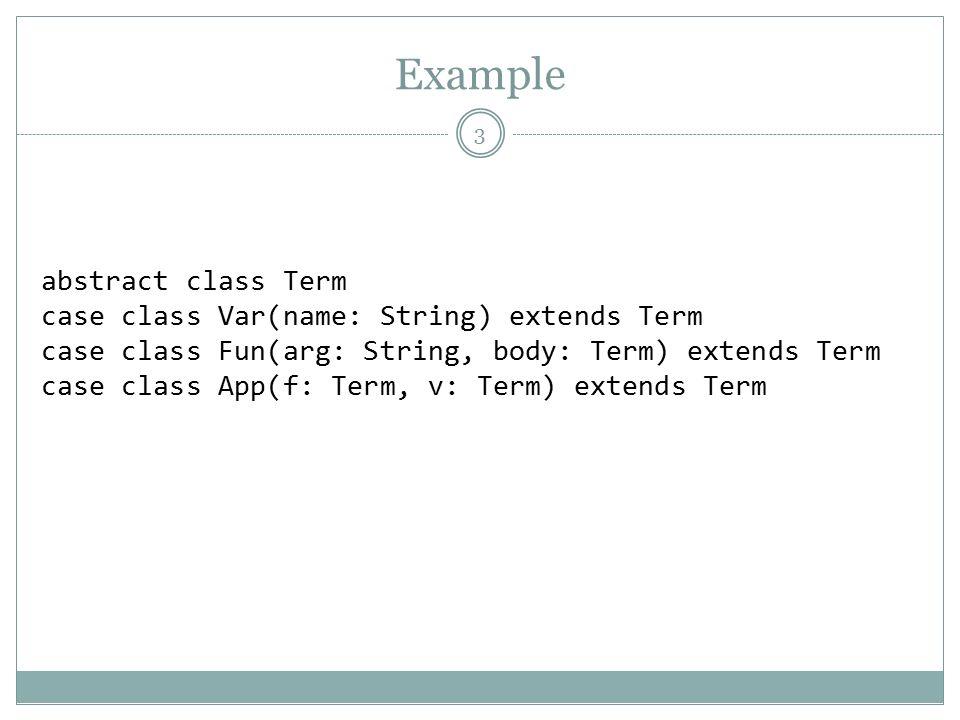 scala case class