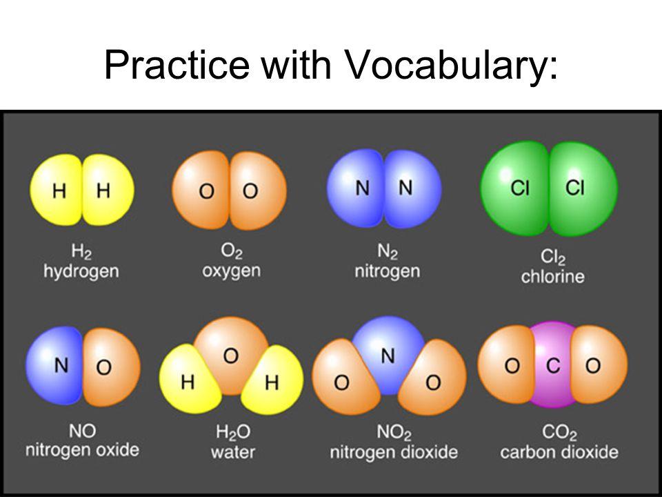 Practice with Vocabulary: