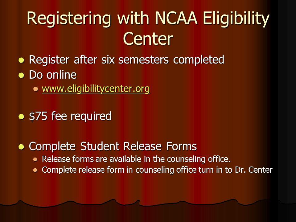 NCAA Eligibility Parent Information Night Monday, April 20, 2015 ...