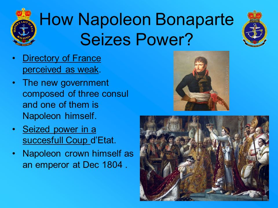 napoleon power Napoleon: power and splendor marks the first exploration of the majesty and the artistic, political and ideological significance of napoleon's imperial court from napoleon's self-appointment as first consul in 1799 to his abdication in 1814 the imperial household was a key institution during.