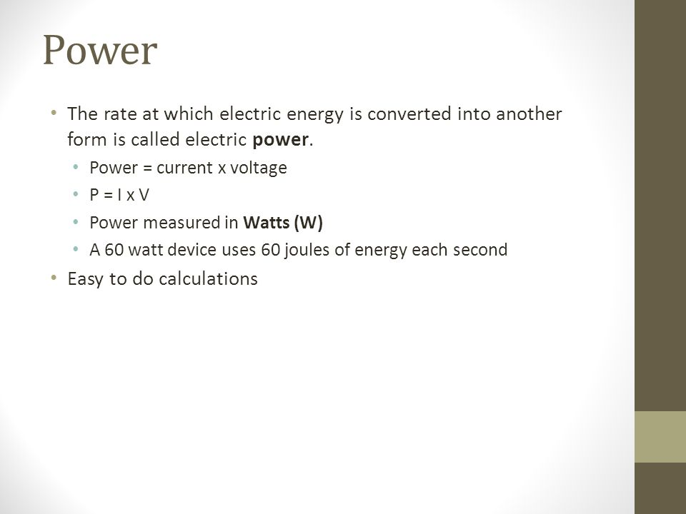 Chapter 34 Notes Electric Circuits. Electric Current Intro Voltage ...
