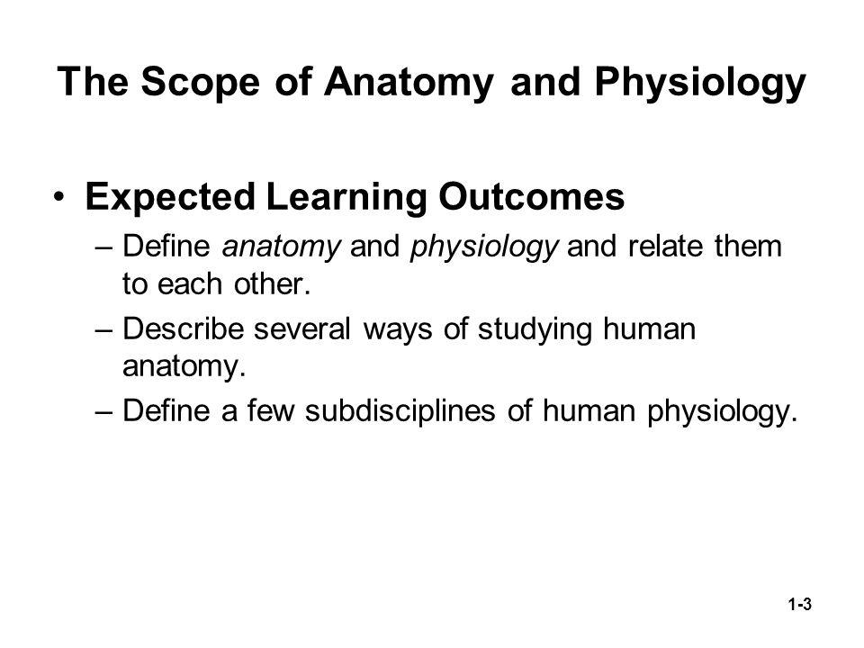 Fantastisch Scope Of Anatomy And Physiology Ideen - Anatomie Ideen ...