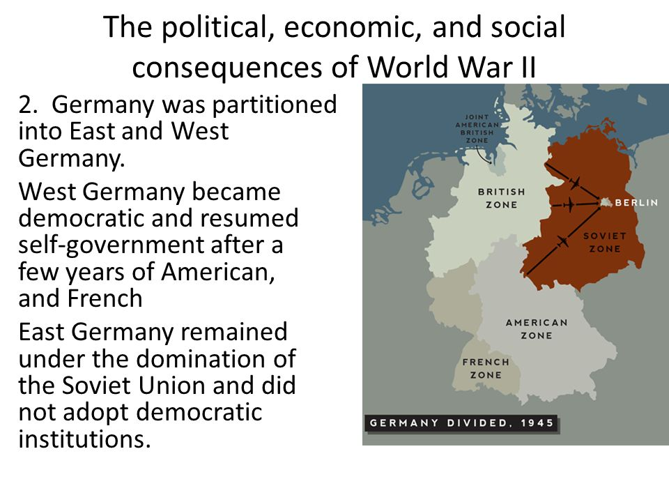 an analysis of the social economical and political effects of world war i Long before world war i what is the most important social/political/economic and cultural reasons what was the political, social and economic profile of.