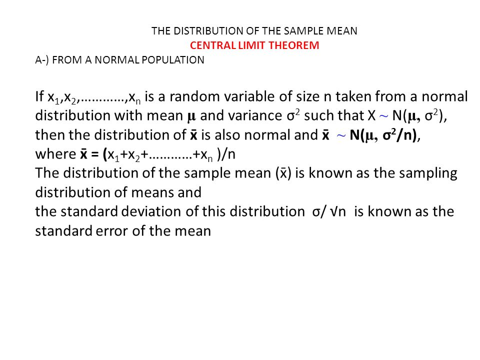 Example random samples of size n 2 are drawn from a finite 2 the distribution ccuart Image collections