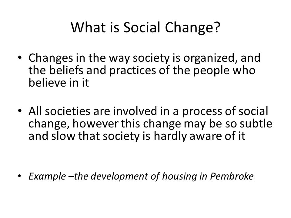 Social Change Questions Which Area Of Canadian Life Has Changed The
