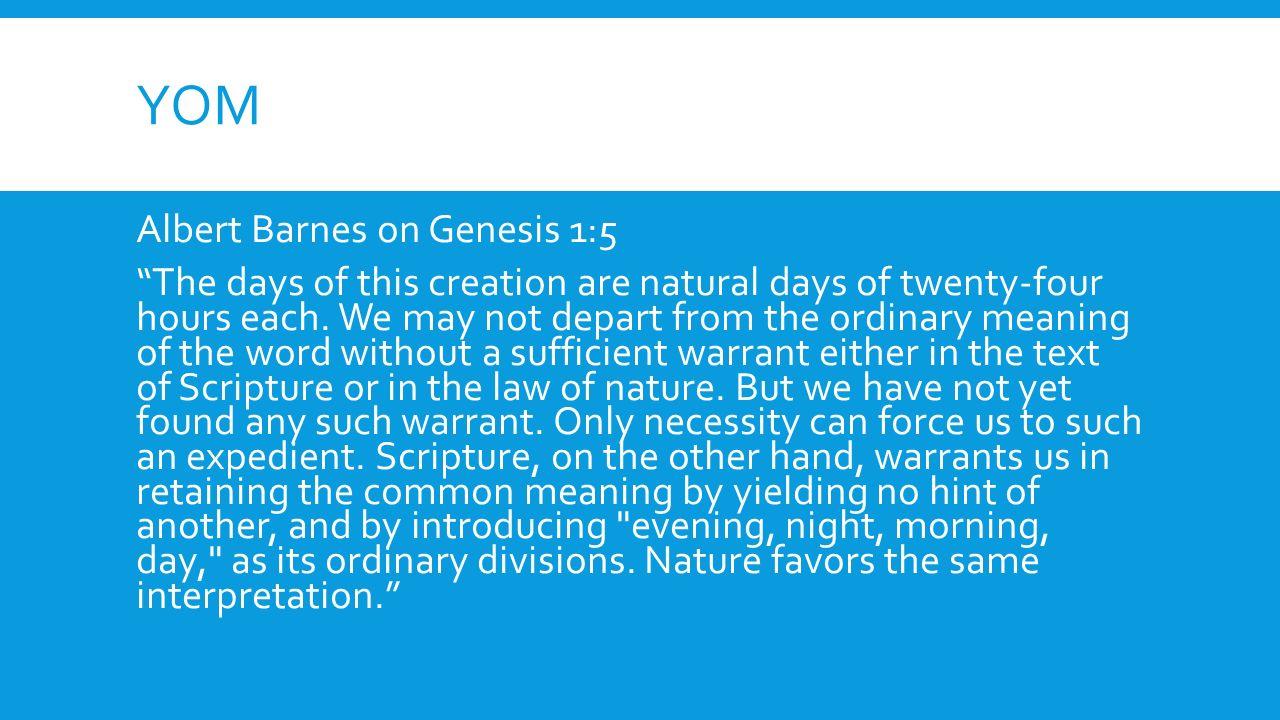 6 days god u0027s book vs man u0027s scientific theory do you believe