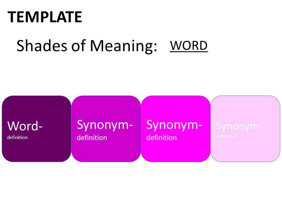 define template in word