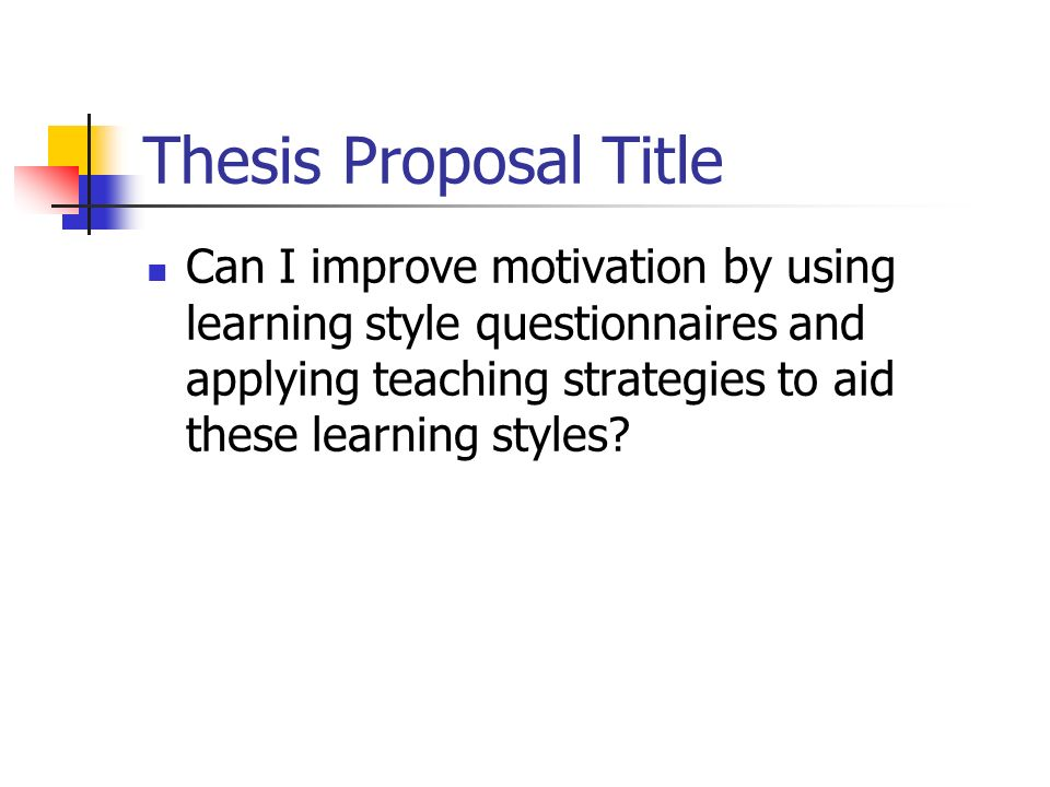 motivation thesis writing