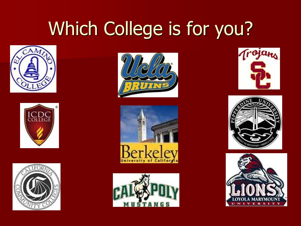 What UC/CSU schools can I get into?
