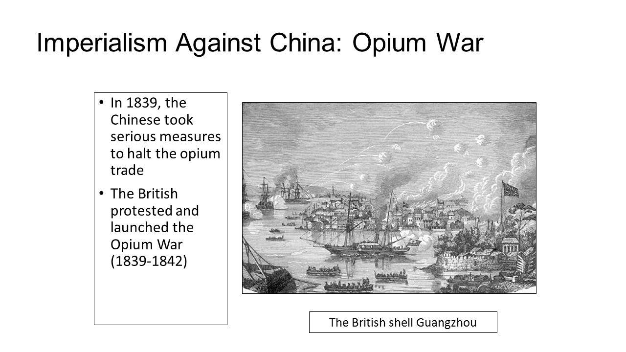 trade and opium war