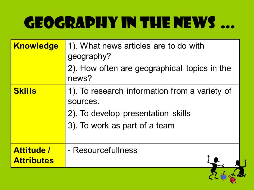IS GEOGRAPHY IN THE NEWS?. Geography in the news … Knowledge1 ...