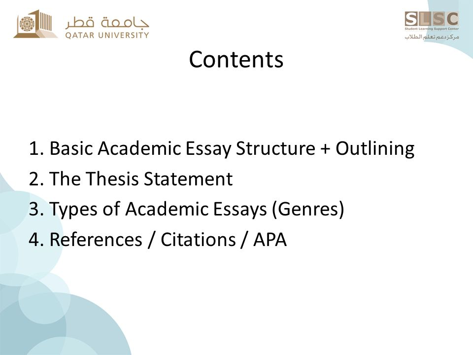 thesis statement in academic essays Thesis statement examples is a compilation of a list of sample b ranks higher than sample thesis statement a thesis all sorts of academic, essays.