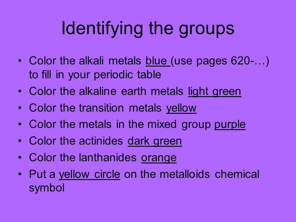 reactivity of metals change across the periodic table 2 identifying the groups color the alkali - Periodic Table Alkali Metals Reactivity
