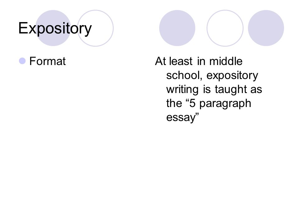 expository writing spi id individual writing selections as  5 expository