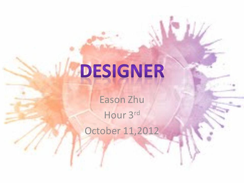 1 Eason Zhu Hour 3 Rd October 112012