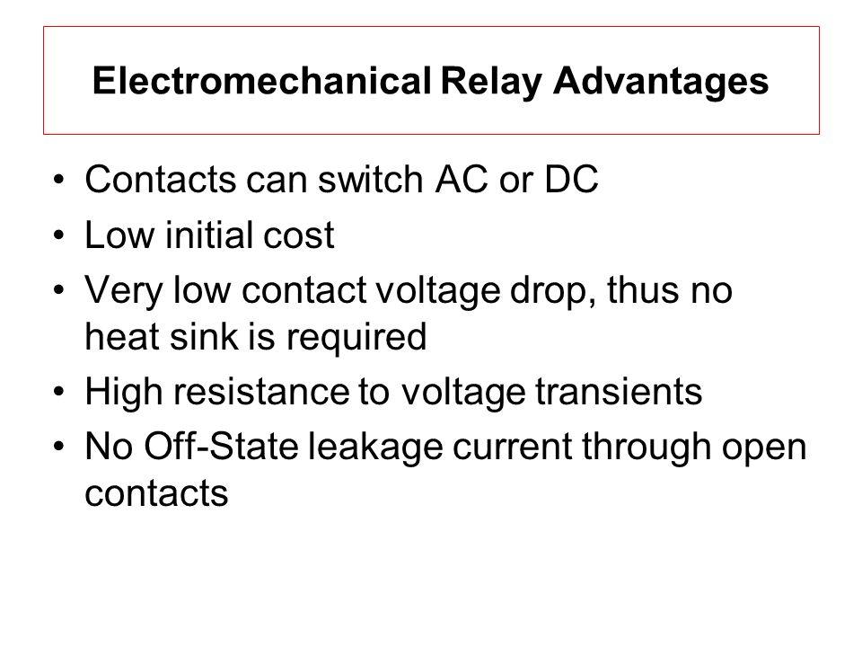 Electromechanical Relays Mechatronics ECE 5320 Assignment 1 Paul - Relay Contact Voltage Drop