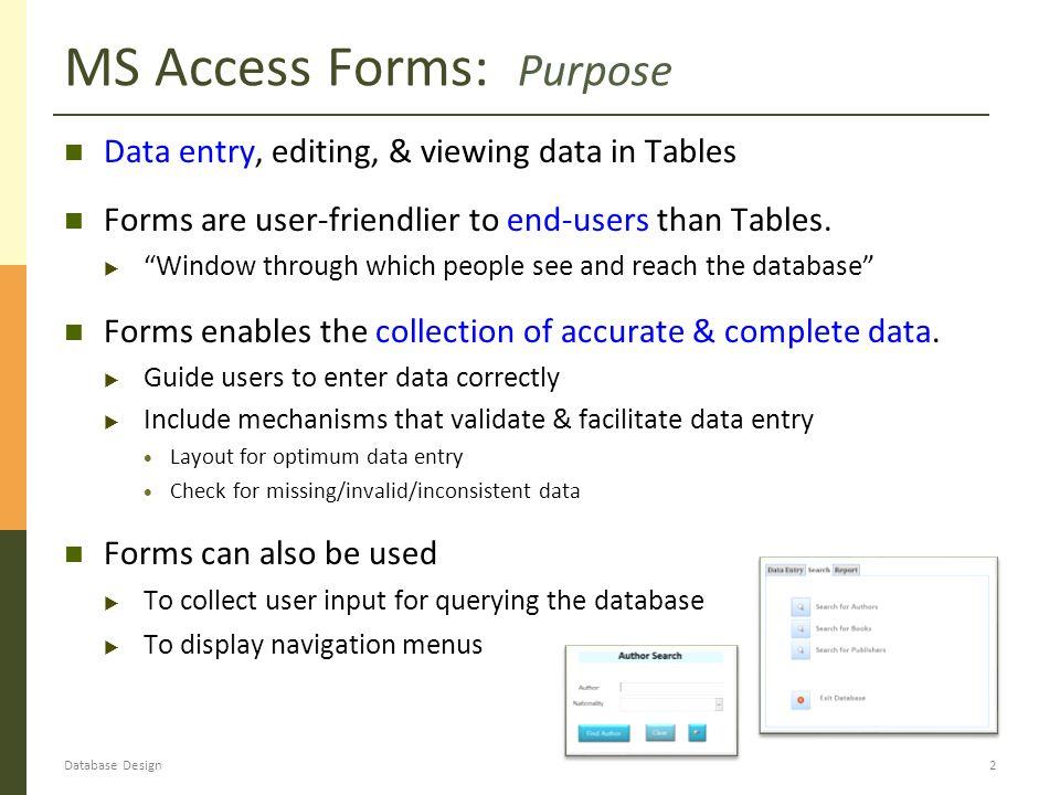 data entry guide